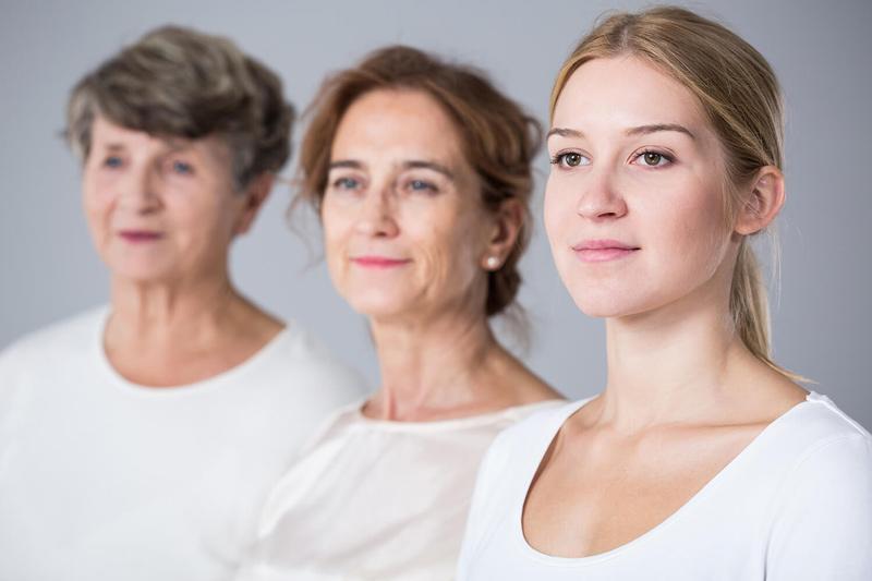 Drei Generationen Frauen